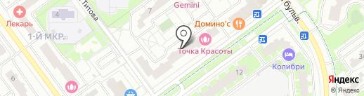 ВиОптика на карте Красногорска