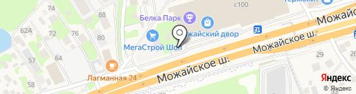 Пекан на карте Новоивановского