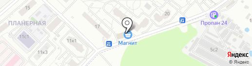 СОЦИАЛЬНЫЙ ПАНСИОНАТ на карте Химок