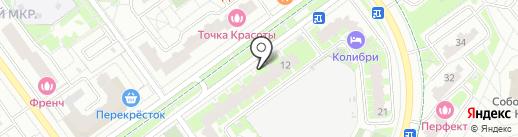 ПаПан на карте Красногорска