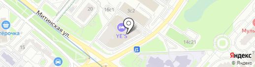 СТРОЙ-АТТЕСТАТ МСК на карте Москвы