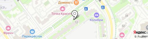 Репка на карте Красногорска