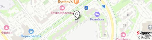 KRONNE на карте Красногорска