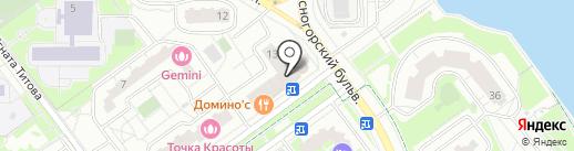 Красногорский халяль на карте Красногорска