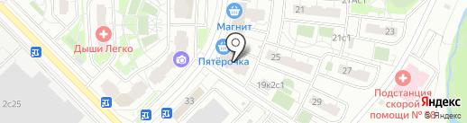 Магазин разливного пива на карте Московского