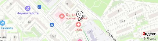 Траттория UNO на карте Московского