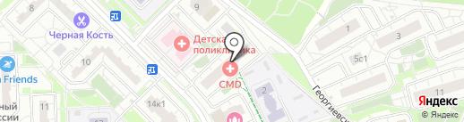 Р-Авто на карте Московского