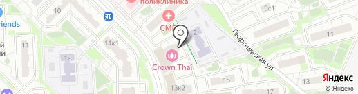 АРТ на карте Московского