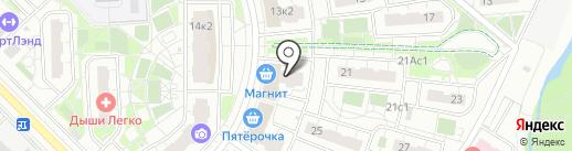 РД Студио на карте Московского