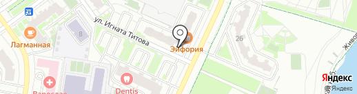Дизайка на карте Красногорска
