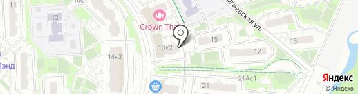 Promo-Qwerty на карте Московского