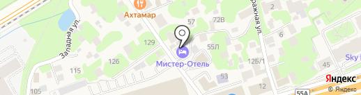 Mister Hotel на карте Новоивановского