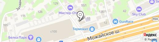 Парикмахерская на карте Новоивановского