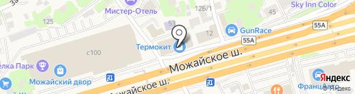 A-DART на карте Новоивановского