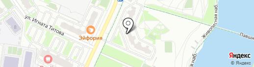Покороче на карте Красногорска