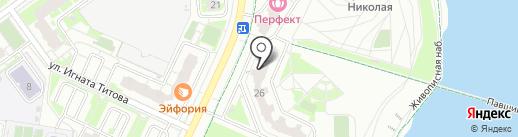 Логолендия на карте Красногорска