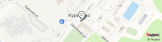 Магазин свежего мяса на карте Курилово
