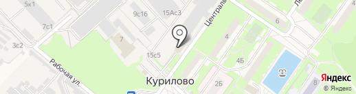 Магазин автозапчастей на карте Курилово