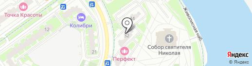 КРОКУС-СИТИ на карте Красногорска