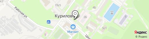 Продуктовый магазин на карте Курилово