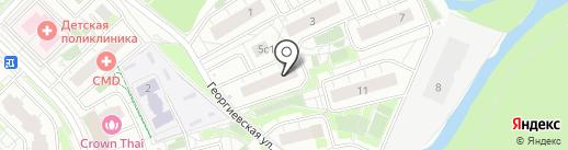 Косметический кабинет Оксаны Перепечко на карте Московского