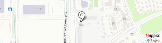 Западные ворота столицы на карте Новоивановского