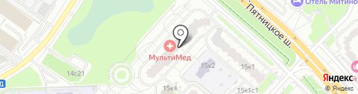 Жена на Час на карте Москвы