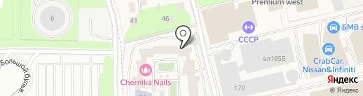 Содружество, ЖСК на карте Новоивановского