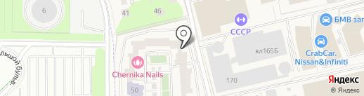 Элекснет на карте Новоивановского