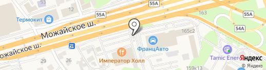 Кафе быстрого питания на карте Новоивановского