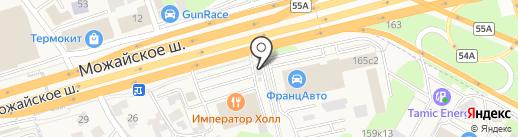 Продуктовый магазин на карте Новоивановского