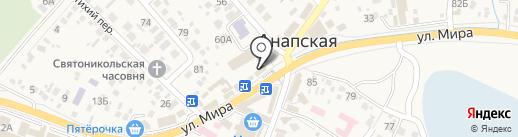 Банкомат, Крайинвестбанк, ПАО на карте Анапы