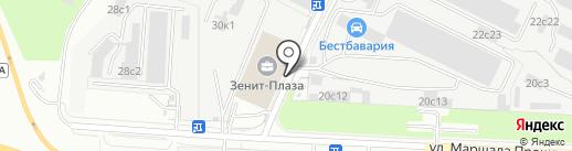 Восточная Горнорудная Компания на карте Москвы