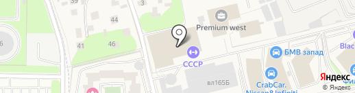SafeSpace на карте Новоивановского