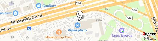 Азбука сантехники на карте Новоивановского