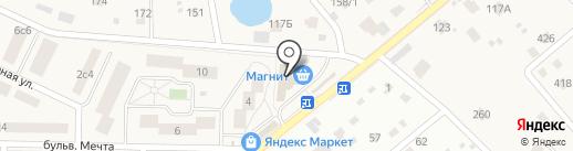 Октава-Недвижимость на карте Озерецкого
