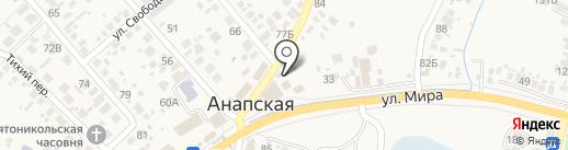 Пивной дворик на карте Анапы