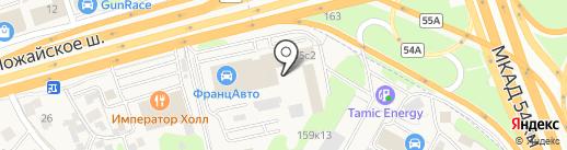 АвтоДата на карте Новоивановского