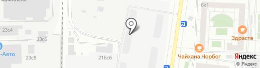 Колизей Технологий на карте Москвы