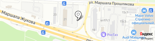 МОСБРИКЕТ на карте Москвы