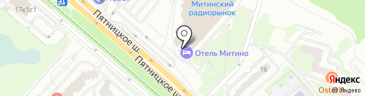 OKprinter на карте Москвы