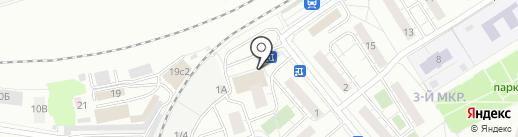 Первоцвет на карте Москвы
