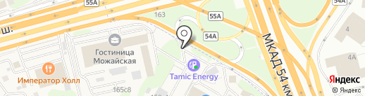 Киоск фастфудной продукции на карте Новоивановского