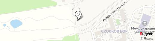 Академгородок на карте Заречья