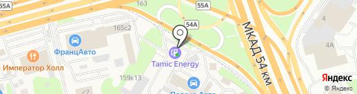 Платежный терминал, Московский кредитный банк, ПАО на карте Новоивановского