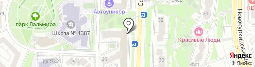 Сэвен Комп на карте Москвы