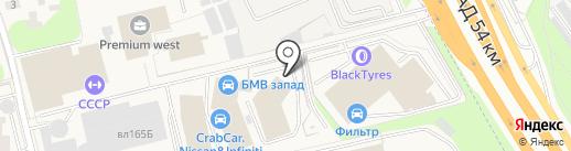 Фотон Мотор на карте Новоивановского