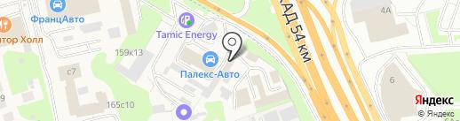 Автомойка на карте Новоивановского