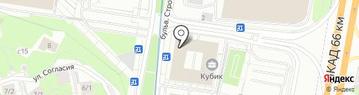 АвантПак на карте Красногорска