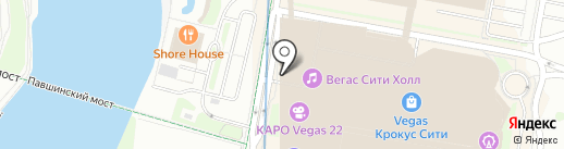Burger King на карте Красногорска